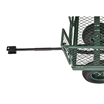 Sandusky Lee CW4824 Muscle Carts Steel Utility Garden Wagon, 1000 lb. Load Capacity, 21-3/4