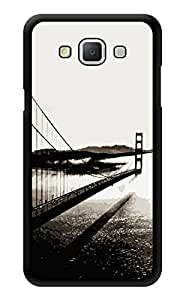 """Humor Gang Bridge Monochrome Printed Designer Mobile Back Cover For """"Samsung Galaxy A3"""" (3D, Glossy, Premium Quality Snap On Case)"""