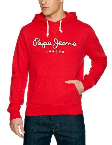 Pepe Jeans London PM580404 - Logo Sweat Men's Sweatshirt Strawberry Medium