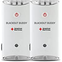2-Pack Eton The American Red Cross Blackout Buddy the Emergency LED Flashlight