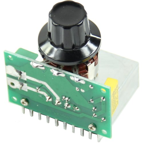 Estone AC 220V 3800W SCR Voltage Regulator Dimming Dimmers Speed Controller Thermostat