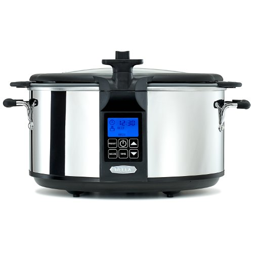 Portable 6.5 QT. Slow Cooker with Searing Pot
