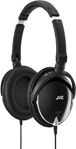 JVC High Quality Lightweight Headphones - Black