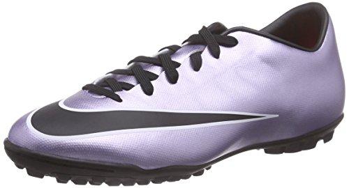Nike Mercurial Victory V Tf Scarpe da calcio allenamento, Uomo, Multicolore (Urbn Lilac/Blk-Brght Mng-White), 43