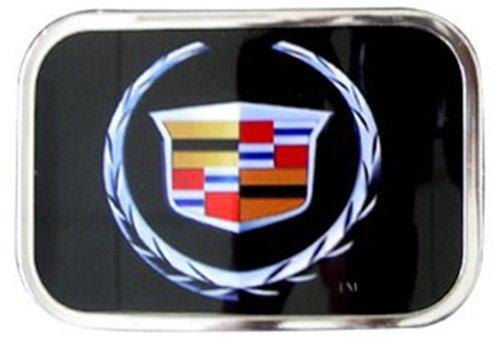 Original CADILLAC Logo Belt Buckle Chrome Frame