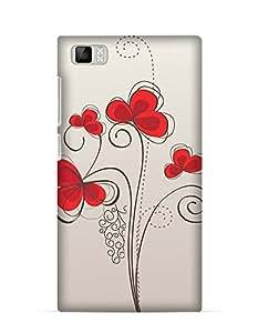 GetASkin First Love back case for Xiaomi Mi3