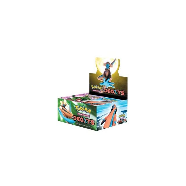 Pokemon Trading Card Game EX Deoxys Booster Box
