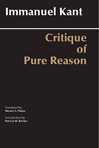 critique of pure reason 2 essay Transcendental deductions, aesthetics - immanuel kant's critique of pure reason.