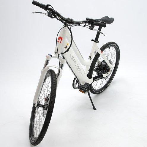 2012 Stromer Elite Sport Electric Motor Bicycle White Medium Road Stepthrough