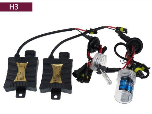 Egoodbest 35W Slim Hid Xenon Conversion Kit Ballast H3 3000K 4300K 5000K 6000K 8000K 10000K 12000K (6000K)