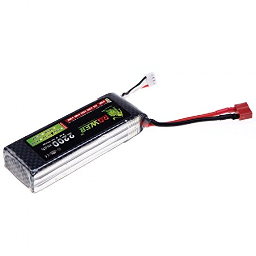 Quality Oriainal Lion Power Lipo Battery 11.1V 2200Mah 25C Max 40C T Plug For Rc Car Airplane Align Trex 450 Helicopter Part