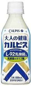 大人の健康・カルピス 乳酸菌&オリゴ糖 280ml×24本
