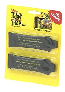 Victor M385 2-Pack Bait for M365 Disposable Yellow Jacket Trap