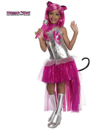 Rubies Monster High Frights Camera Action Catty Noir Costume