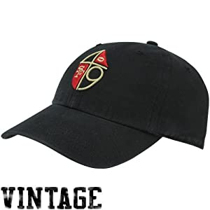 NFL '47 Brand San Francisco 49ers Throwback Franchise Fitted Hat - Black (XX-Large)