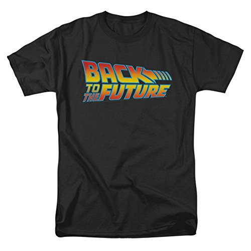 Mens Back To The Future Logo T-shirt