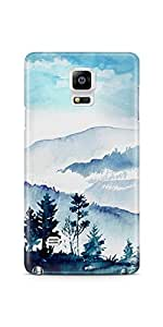 Casenation Mountain Painting 01 Samsung Galaxy Note 4 Matte Case