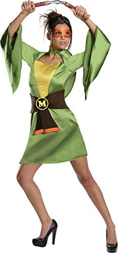 Morris Costumes Women's Tmnt Michelangelo Costume, Small