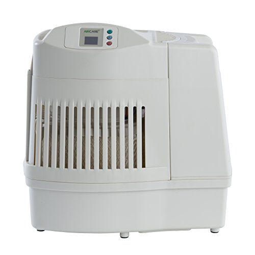 AIRCARE MA0800 Digital Whole-House Console-Style Evaporative Humidifier, White - 1