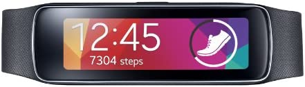 Samsung Gear Fit Fitness Tracker and Smartwatch for Samsung Devices (US Warranty) - Black