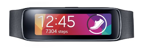 Samsung Gear Fit Smart Watch, Black (US Version)