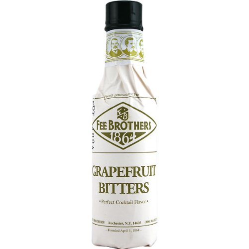 Fee Brothers Grapefruit Cocktail Bitters - 5 oz - 2 Pack by Fee Brothers (Fees Brothers Bitters compare prices)