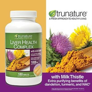 Trunature Liver Health Complex 1000mg 180 Tablets
