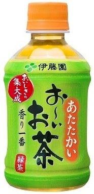伊藤園 ホットPET お?いお茶緑茶 (275ml×24本)