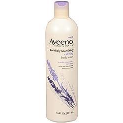 Aveeno Active Naturals Body Wash, Calming Lavender, Chamomile + Ylang Ylang 16 fl oz