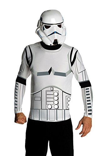 Stormtrooper Top & Mask Adult Costume Md Halloween Costume