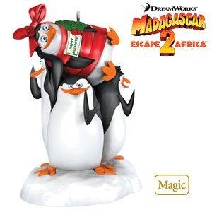 Super Spy Penguins Madagascar 2010 Hallmark Ornament