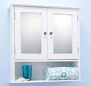 door white bathroom mirror cabinet mirrored bathroom cabinet amazon