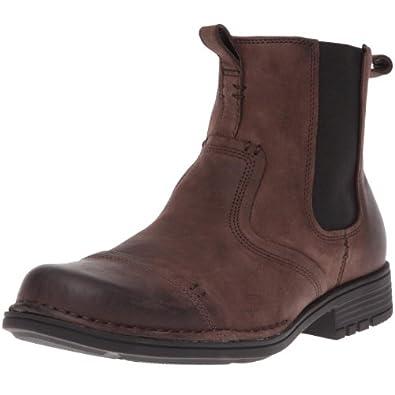 Rockport Men's Sagwon Ave Dark Brown Pull On Boot K53130  10 UK, 44.5 EU, 10.5 US