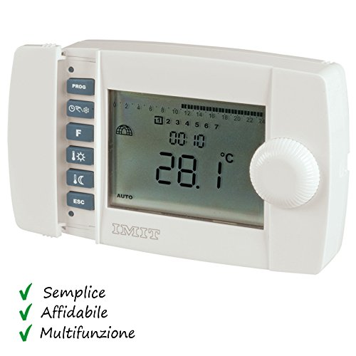 Aerazione forzata elewex istruzioni termostato for Termostato baxi istruzioni
