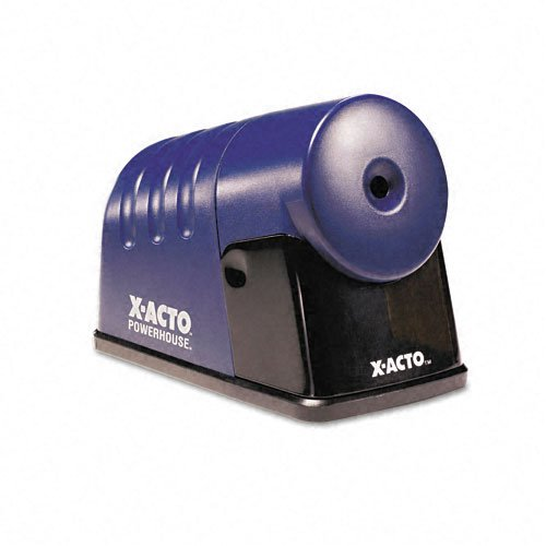Electric Pencil Sharpener, 4 Quot;X8-1/2 Quot;X6 Quot;, Translucent Blue