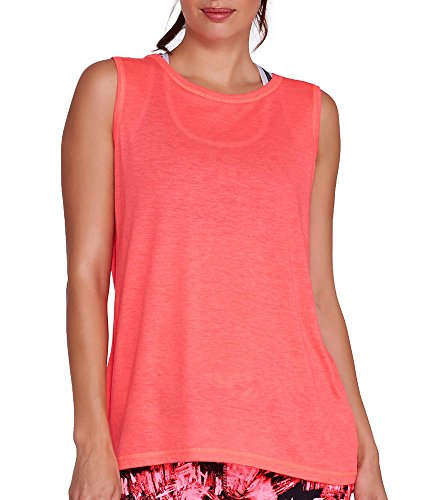 Calvin Klein Performance Epic Tank, S, Atomic Red