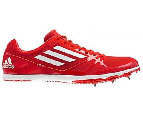 ADIDAS adiZero Avanti 2 Ladies Running Spikes, Red/White, UK5