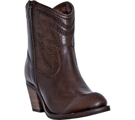 Zip Round Toe Cowboy Boots