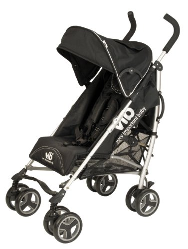 GT Stroller Inc Deluxe Fleece Black Footmuff