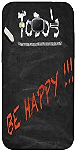 Snoogg Todo Happy Graphic 2803 Hard Back Case Cover Shield For Samsung Galaxy...