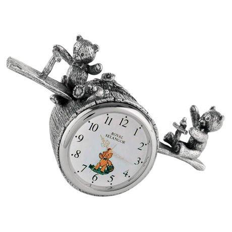 royal-selangor-teddy-bears-picnic-playtime-table-clock-silvery-grey-kitchen