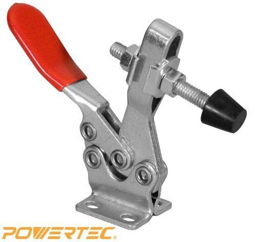 POWERTEC-20301-Horizontal-Quick-Release-Toggle-Clamp-500-lbs-Capacity-225D-New