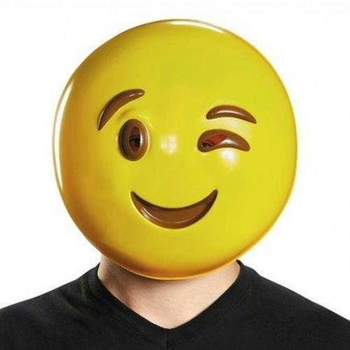 Wink Mask Costume Accessory,
