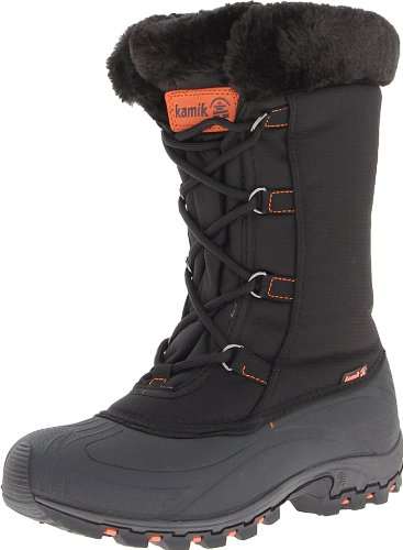 Kamik Women's Rival Snow Boot,Black,6 M US (Kamik Rival compare prices)