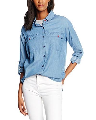 Cross Jeans Camisa Vaquera