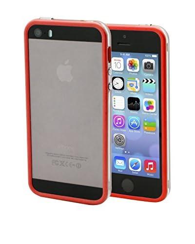 Unotec Bumper Dual Color iPhone5/5S Rojo
