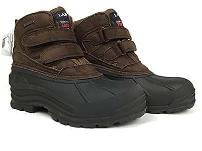 Amazon.com: LABO Men's Brown Fashion Winter Snow Boots