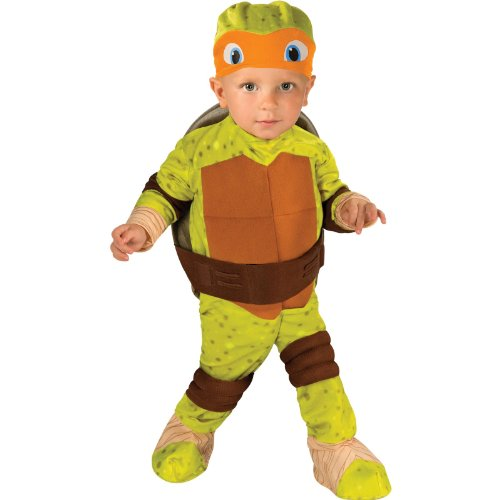 Teenage Mutant Ninja Turtle Michelangelo Toddler Costume 2-4t Halloween Costume