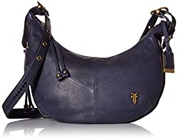 FRYE Belle Bohemian Cross Body Bag, Indigo, One Size