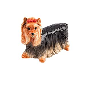 John Beswick Pampered Pooch Yorkshire Terrier dog ornament figure
